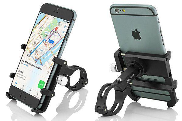 GUB PLUS 6   Handyhalterung mit 360° Funktion für Fahr  und Motorrad für 8,49€ (statt ~10€)
