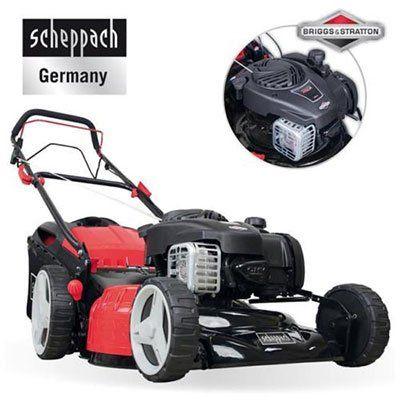 Top! SCHEPPACH MS450 46   Benzin Rasenmäher (45cm, 125 cm³) für 197,10€ (statt 379€)