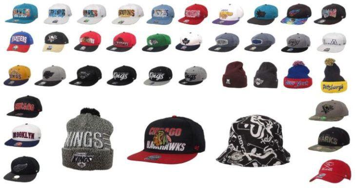 47 Brand   Herren Eishockey und Baseball Logo Kappen große Auswahl für je 15,95€