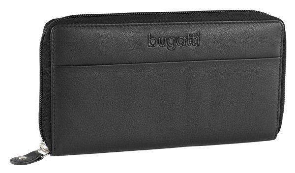 Bugatti Cosmos Damengeldbörse aus Nappaleder in schwarz für 20,95€ (statt 27,95€)