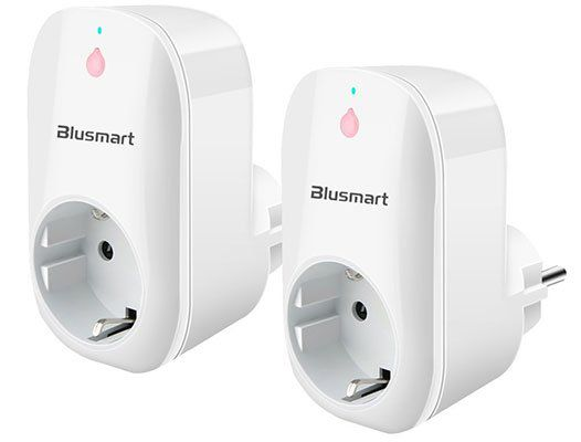 Blusmart   WLAN Steckdosen im Doppelpack für 20,93€ (statt 30€)