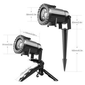 Mini LED Projektor mit 15 Motiven für 7,99€ (statt 23€)   Prime