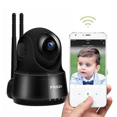 FREDI 1080p WLAN Kamera mit vielen Funktionen für 25,99€ (statt 50€)