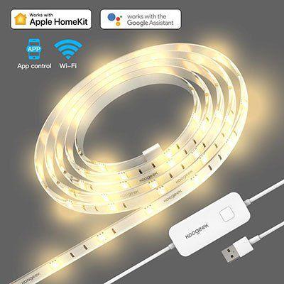 Koogeek Wifi Smart 2m LED Strip (dimmbar) für 31,07€ (statt 37€)