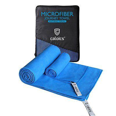 caloics   2 Mikrofasertücher (leicht, schnell trocknend & saugfähig) für 7,49€ (statt 15€)