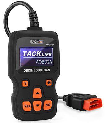 Tacklife AOBD2A   OBD2 Auto Diagnosegerät mit Display für 20,99€ (statt 31€)