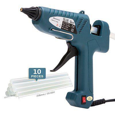 Blusmart Heißklebepistole mit 100W & 10 Klebesticks für 9,99€ (statt 19€)