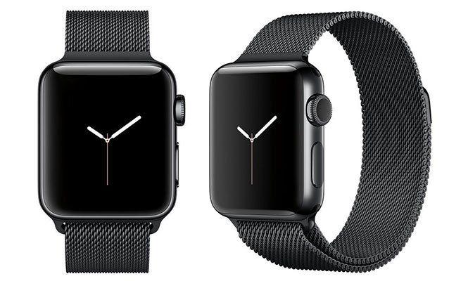 Apple Watch Series 2 (38mm) Edelstahl mit Milanese Armband für 369€ (statt 424€)