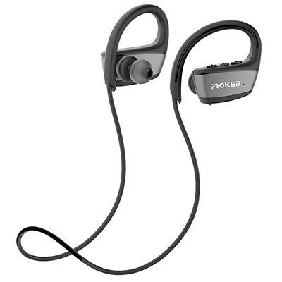 Proker   Kabellose Bluetooth Kopfhörer mit Mikrofon für 18,30€ (statt 23€)
