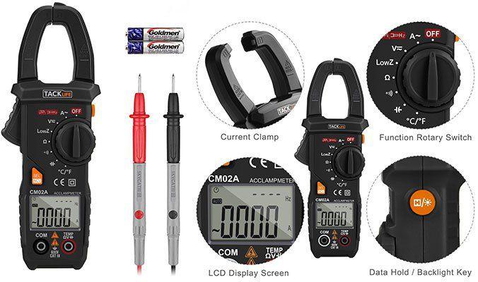 Tacklife CM02A   Zangenstrommesser für 9,99€ (statt 28€)