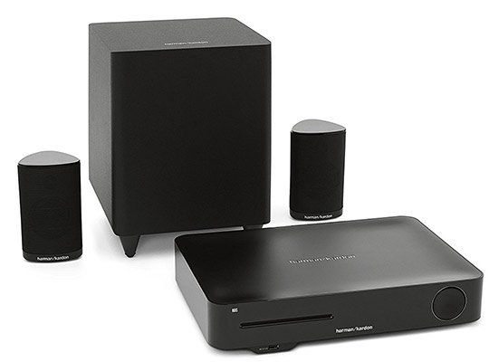 Harman/Kardon BDS 335 2.1 Heimkinosystem (3D Blu ray Player, 200W, WLAN, Bluetooth) für 399,50€ (statt 500€)