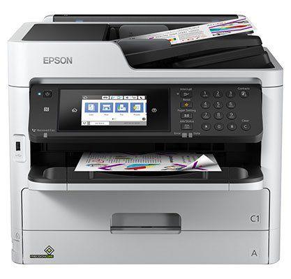Epson WorkForce Pro WF C5710DWF   Tintenstrahl Multifunktionsgerät für 181,19€ (statt 227€) + 40€ Cashback