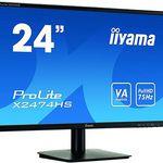 iiyama ProLite X2471HS-B1 60cm (23,6 Zoll) LED-Monitor Full-HD für 72,78€ (statt 117€)
