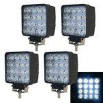 4er Set Vingo LED-Scheinwerfer für 26,39€