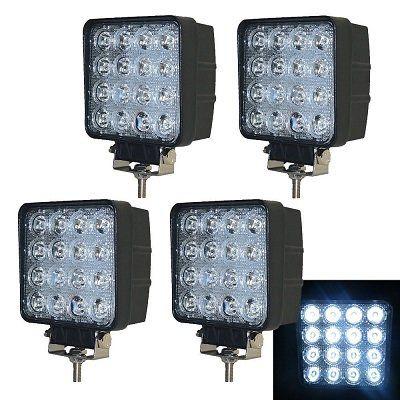 4er Set Vingo LED Scheinwerfer für 26,39€