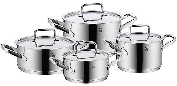 WMF Trend Plus 4 tlg. Kochgeschirr (Cromargan) für 179,95€ (statt 199€)
