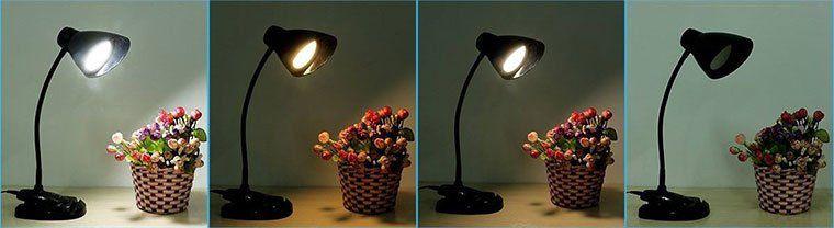 TUXWANG LED Schreibtischlampe mit Handyhalterung & 3 Helligkeitsstufen für 9,59€ (statt 16€)