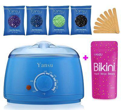 Yansu Waxing Kit mit Wachsbohnen und Erwärmer für 17€ (statt 48€)