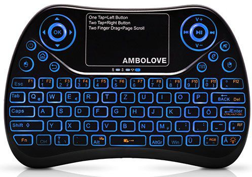 Ambolove Mini Tastatur (QWERTZ) für 9,99€ (statt 18€)