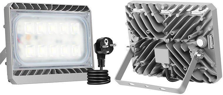 Geht wieder! GOSUN   50W LED Außenstrahler (4500 Lumen) für 25,99€ (statt 40€)