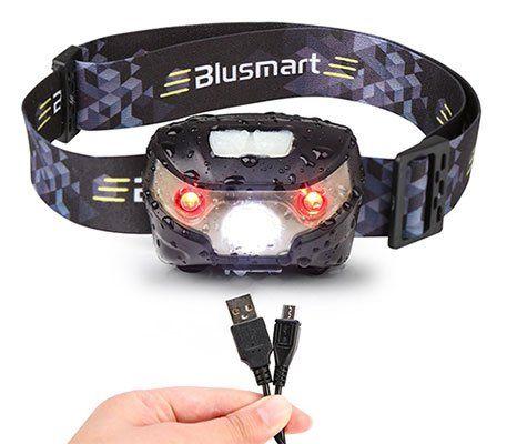 Blusmart LED Stirnlampe mit 5 Modi für 4,95€ (statt 10€)