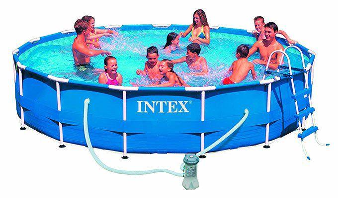 Intex Metal Frame Pool (28202GN) mit 305x76cm inkl. Filterpumpe für 76,40€ (statt 89€)