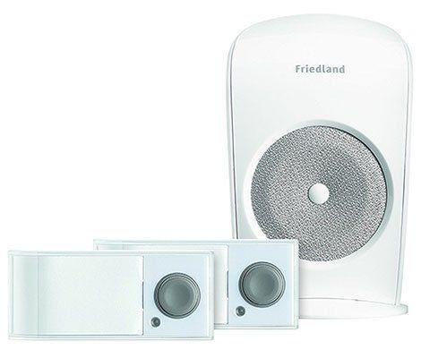 Friedland Funkklingel D3110S Komplett Set mit 2 Tastern für 9,99€ (statt 30€)