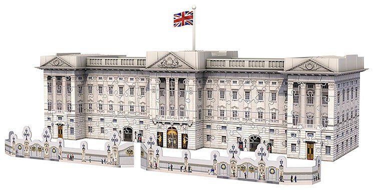 RAVENSBURGER 3D Puzzle Buckingham Palace mit 216 Teile für 19,99€