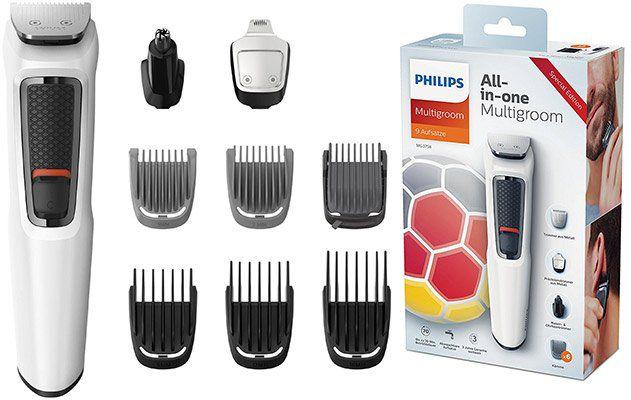 Philips MG3758/15   Bart  und Haarschneider mit 9 Aufsätzen für 35,94€ (statt 40€)