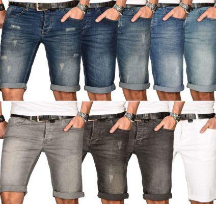 A. Salavarini Herren Bermuda Shorts 10 Modelle für je 27,90€
