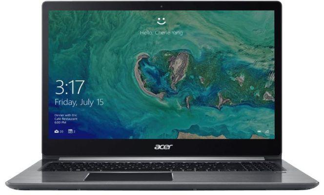 Acer Swift 3   15 Zoll Full HD Notebook mit i3, 128GB SSD, 4GB RAM für 444€ (statt 539€)