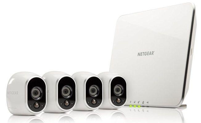 Netgear Arlo VMS3430 Sicherheitssystem mit 4 Kameras (Alexa kompatible) für 379€ (statt 408€)