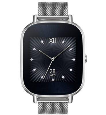 ASUS ZenWatch 2 Smart Watch Metall Silber für 99,99€ (statt 149€)