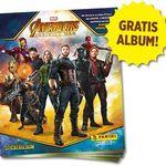 Panini Avengers Infinity War Sammelalbum gratis