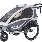 Qeridoo Kidgoo1 Fahrradanhänger für 343,90€ (statt 459€)