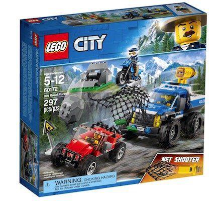 Lego City   Verfolgungsjagd auf Schotterpisten (60172) für 16,99€(statt 22€)