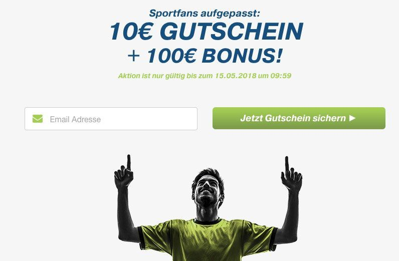 10€ Gratis Wette bei bet at home + bis zu 100€ Einzahlungsbonus für Neukunden