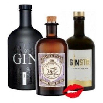Gin Bundle (Monkey 47, Black Gin, GINSTR Stuttgart Dry) für 83,50€ (statt 94€)