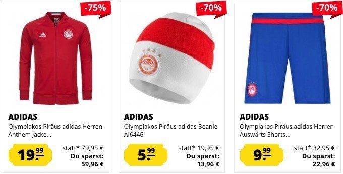 Olympiakos Piräus Sale   z.B. Langarm Poloshirt ab 7,99€ (statt 13€)