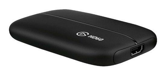 Elgato HD60 Game Capture Karte mit 1080p/60fps für 83,38€ (statt 157€)