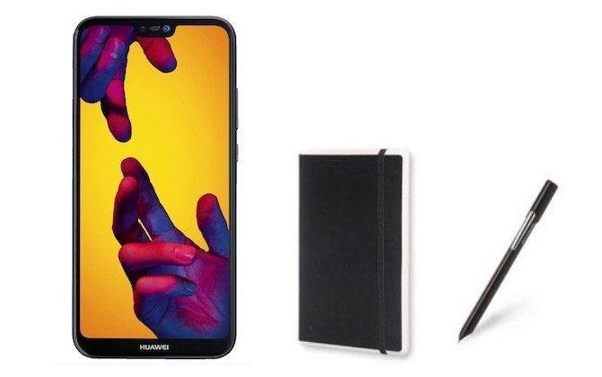 Huawei P20 Lite + Moleskine Smart Writing Set für 9,95€ + Otello Allnet Flat mit 3GB Daten für nur 19,05€ mtl.
