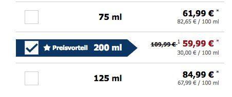 Jean Paul Gaultier Le Male Eau de Toilette 200ml für 49,94€ (statt 76€)