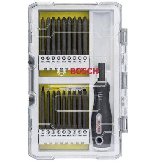Bosch Schraubendreher Set mit 37 Teilen inkl. Handgriff für 17,99€ (statt 24€)