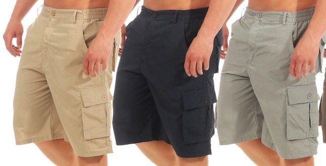 Azuonda Cargo Shorts mit kurzem oder 3/4 Schnitt für je 12,90€