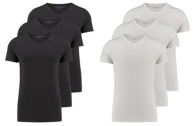 3er Pack Tommy Hilfiger Premium Essentials Herren T Shirts für 31,91€