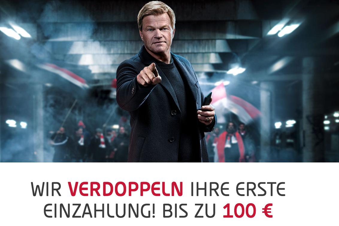Tipico: 10€ einzahlen und insgesamt für 35€ wetten dank Einzahlbonus für alle Neukunden (BuLi Start heute)