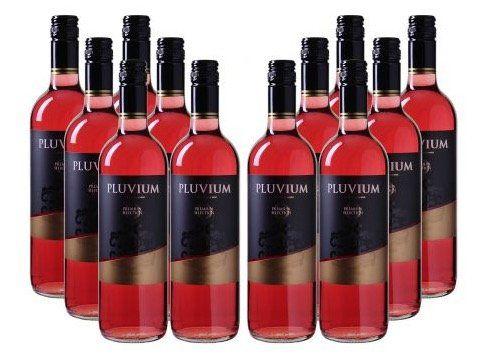 12 Flaschen Pluvium Premium Selection Rosewein für 29,97€ (statt 54€)   nur 2,50€ pro Flasche!