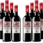 12 Flaschen Casa Roja mehrfach prämierter Tempranillo Rotwein für 49,95€