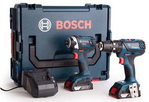 Bosch Bohr  und Schlagschrauber mit 2x 2,0 Ah Akku + L Boxx für 238,90€ (statt 280€)