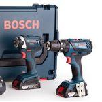 Bosch Bohr- und Schlagschrauber mit 2x 2,0 Ah Akku + L-Boxx für 238,90€ (statt 280€)